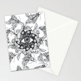 Ranunculus Running Eye Spring Stationery Cards