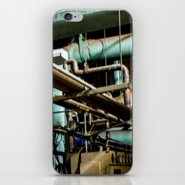 Blurry Pipes iPhone Skin