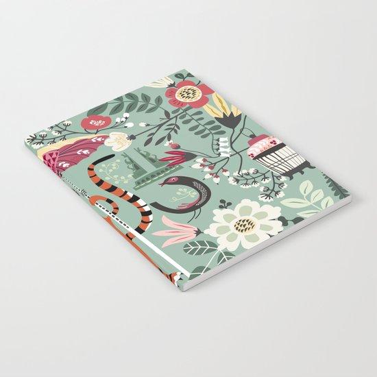 TIGER GARDEN  Notebook