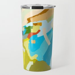 Ludington Beach Travel Mug
