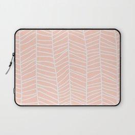 Baesic Herringbone (Coral) Laptop Sleeve