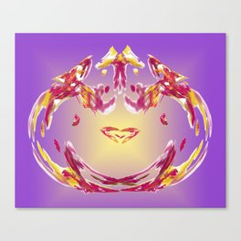 the inner heart - das innere Herz Canvas Print