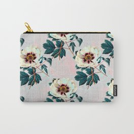 Flowery blooming with geometric Carry-All Pouch