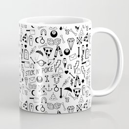 Stick and Poke Tattoo Coffee Mug