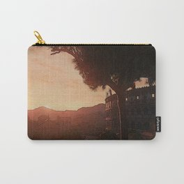 Sunset on ancient Rome Carry-All Pouch