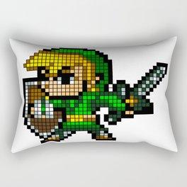 8 Bit Link Rectangular Pillow