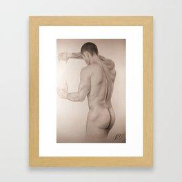 Atadura, Alex Chinea Pena Framed Art Print