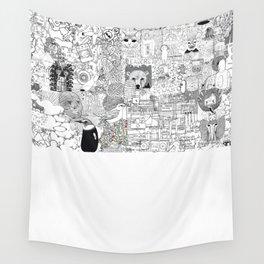 mashup Wall Tapestry