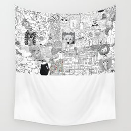 mashup Wall Tapestry