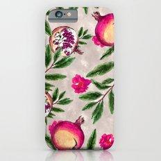 Pomegranate Pattern #society6 #decor #buyart iPhone 6s Slim Case