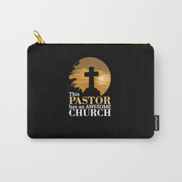 Christianity - Awesome Church Pastor Carry-All Pouch