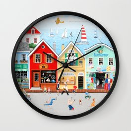 The Singing Bakers Wall Clock