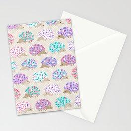 Hedgehog polkadot Stationery Cards