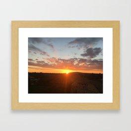 Mallorca Sunrise Framed Art Print