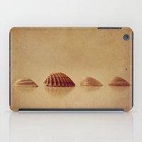shells iPad Cases featuring Shells by Around the Island (Robin Epstein)