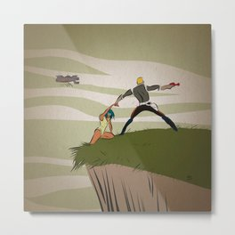 A Daring Escape Metal Print