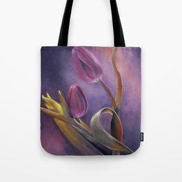 Tulips at Twilight Tote Bag
