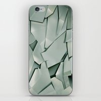 metal iPhone & iPod Skins featuring METAL by peocle