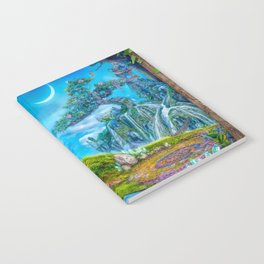 Day Moon Haven Notebook