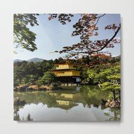 Kinkaku-ji Temple (Japan) Metal Print