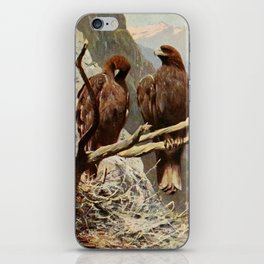 Kuhnert, Friedrich Wilhelm (1865-1926) - Wild Life of the World 1916 v.1 (Golden Eagle) iPhone Skin