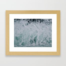 Wonderful Waves Framed Art Print