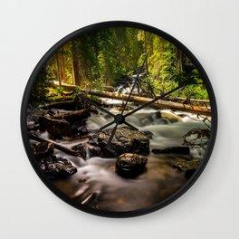Nature's Creek  Wall Clock