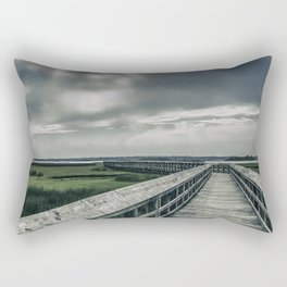 Man In The Clouds Rectangular Pillow