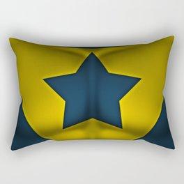 Booster Gold: Superhero Art Rectangular Pillow
