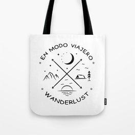 Wanderlust compass Tote Bag