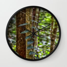 Forest Vine Wall Clock