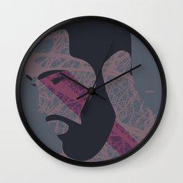 Pose Babe Wall Clock
