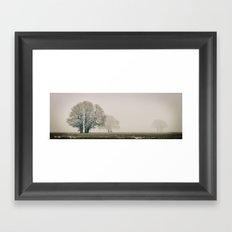 Enduring Winter Framed Art Print