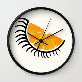 Clockwork Orangina Wall Clock