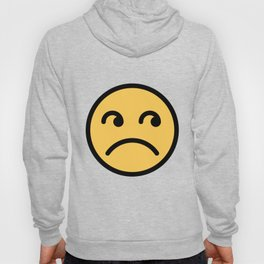 Smiley Face   Annoyed Rolling Eyes   Mouth Sad Hoody