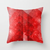 discount Throw Pillows featuring Ruby Nebulæ by Aaron Carberry