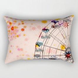 Night at the Carnival Rectangular Pillow
