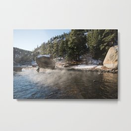 Casting Lines in the Canyon Metal Print