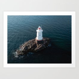 Sakonnet Light Art Print