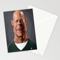 Celebrity Sunday - Bruce Willis Stationery Cards