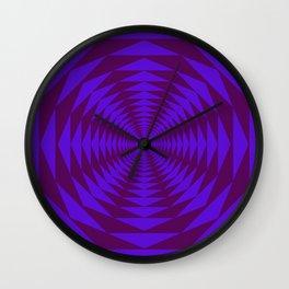 Purple Wahhh Wall Clock