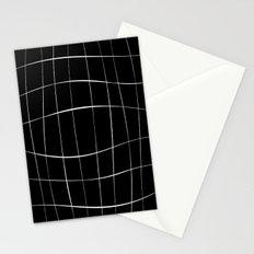 Black Squares Stationery Cards