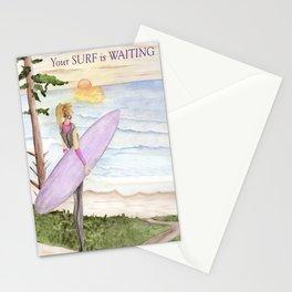 Surfing - Oregon Coast Stationery Cards