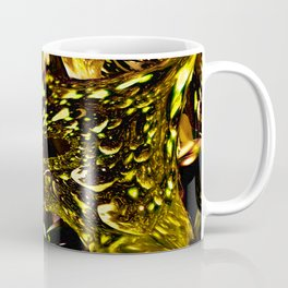 Golden Geometric Shapes Coffee Mug