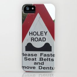 Holey Road iPhone Case