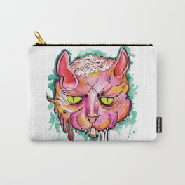 Zombie Brain Cat Carry-All Pouch