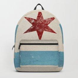 Chicago Flag Backpack