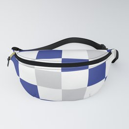 Checked Fanny Pack