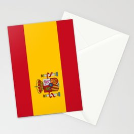 Flag of spain-spain,flag,flag of spain,espana,spanish,espanol,Castellano,Madrid,Barcelona, Stationery Cards
