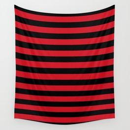 Albania flag stripes Wall Tapestry